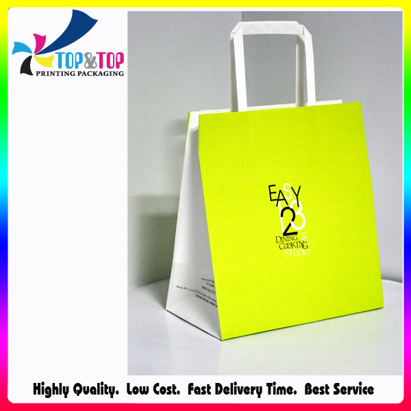Fashional Christmas Paper Gift Bag with Handle pictures & photos