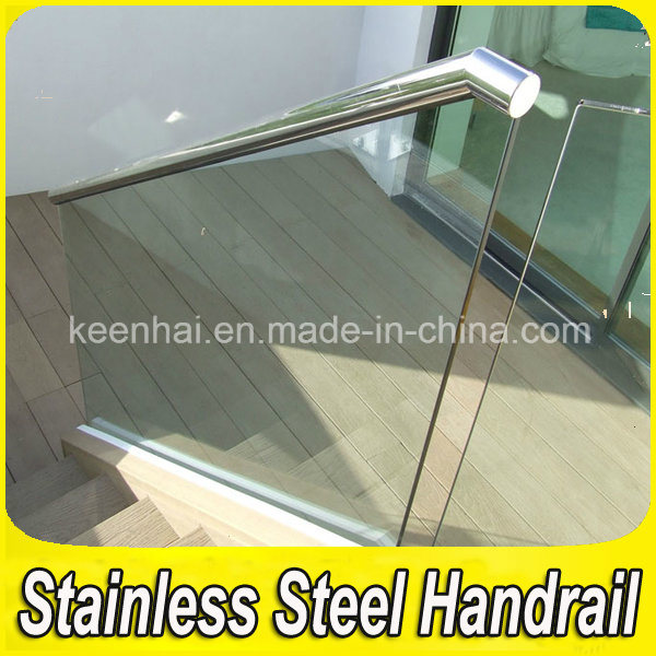 Residential Stainless Steel Glass Balustrade for Stairs pictures & photos