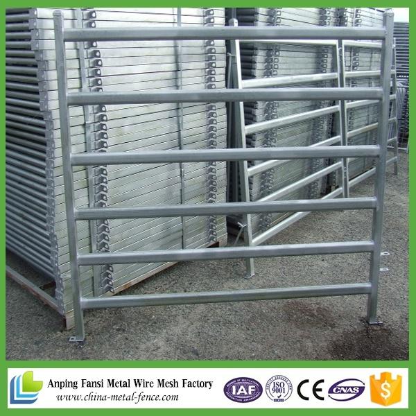 China Cheap Galvanized Portable Cattle Yard Panels / Livestock Panel ...