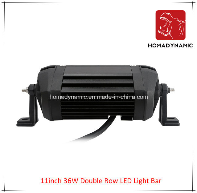 LED Car Light of 11 Inch 36W Double Row LED Light Bar Waterproof for SUV Car LED off Road Light and LED Driving Light