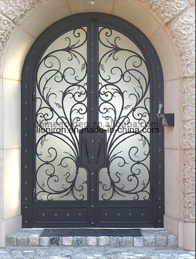Steel Double Entrance Doors Luxury pictures & photos
