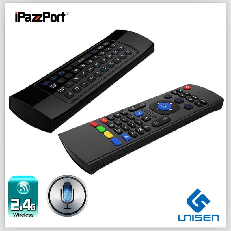 [Hot Item] Newest! Ipazzport Mini Wireless Keyboard for LG Smart TV with IR  Remote Universal Remote Control Keyboard Factory Supply Kp-810-27vr