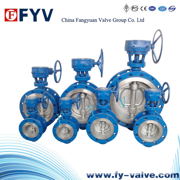 API Gear Operated Flanged Butterfly Valve (FBV) pictures & photos