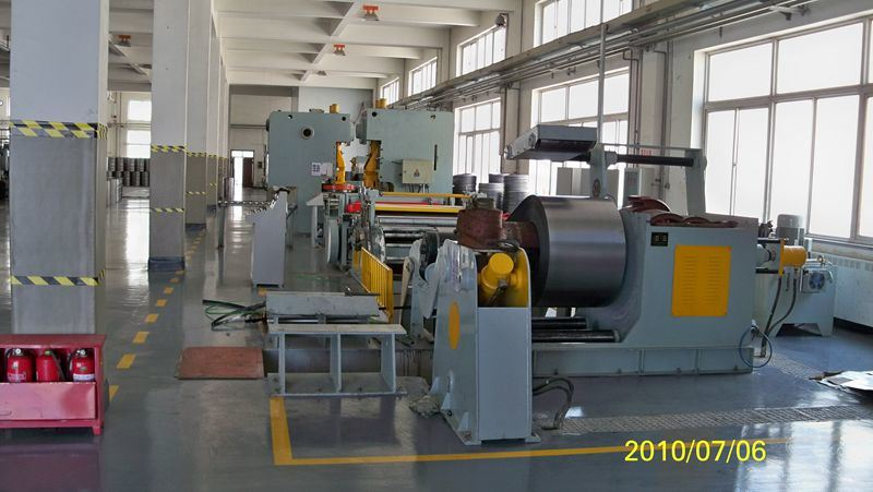 Decoiling Machine for Steel Barrel Drum Making Machine 200L 55 Gallon