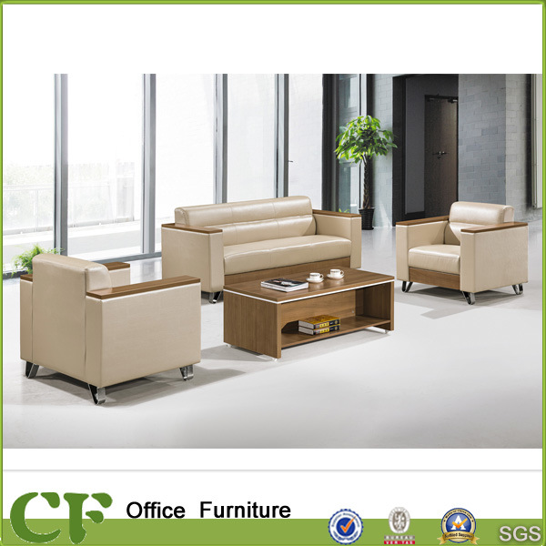 China Commerical Office Furniture Leather Sofa Executive Set