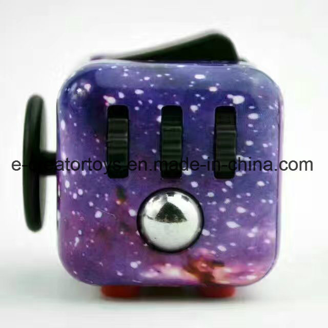 New Color Drawing Fidget Cubes Relieves Stress and Anxiety for Children and Adults pictures & photos