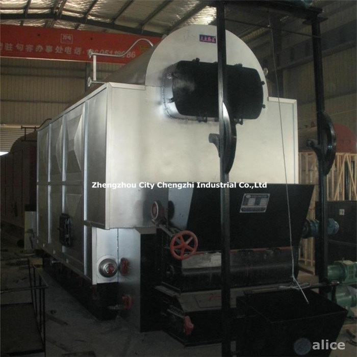 Wood Pellet Biomass Fired Steam /Hot Water Boiler
