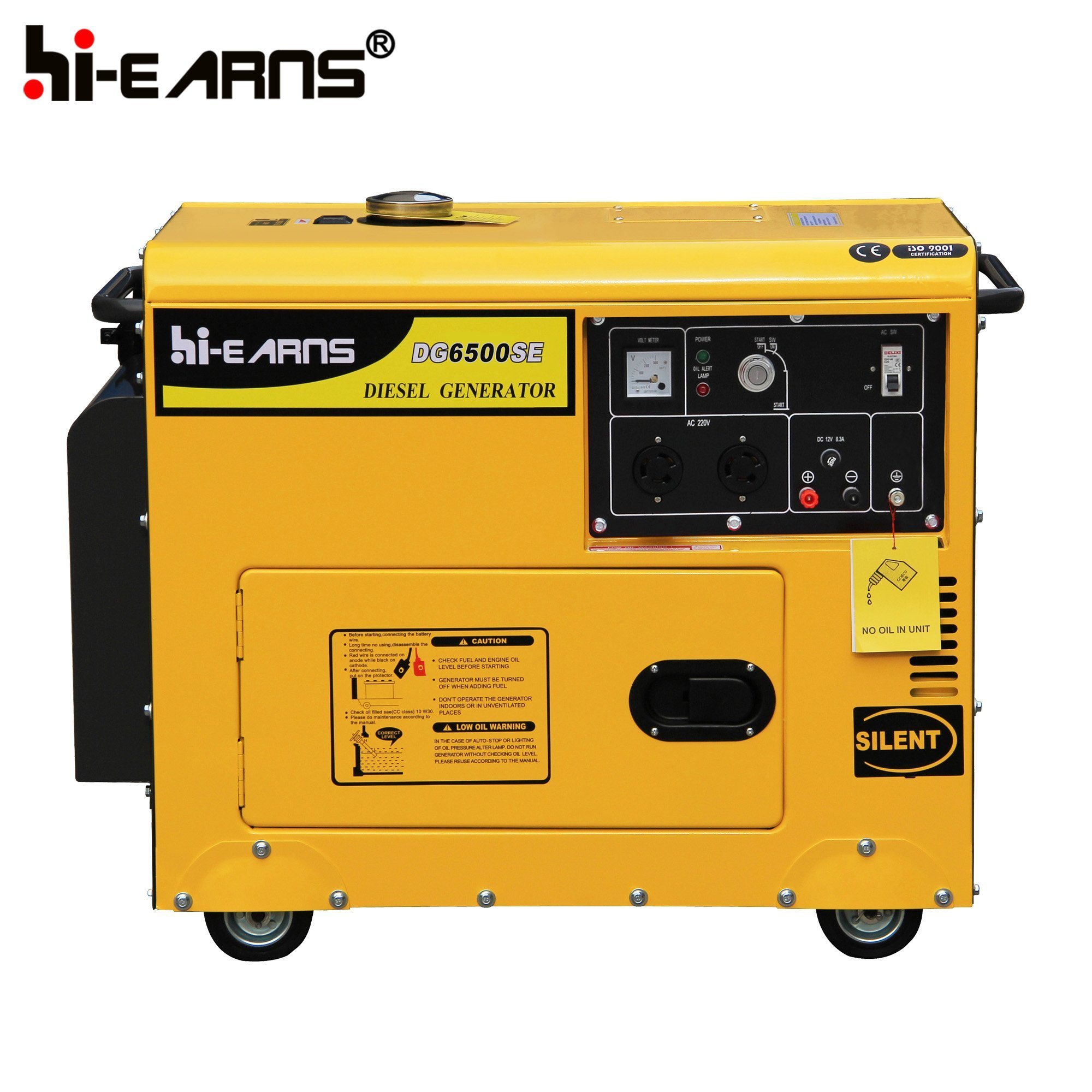 China 5kw Silent Luxury Type Diesel Generator DG6500SE China