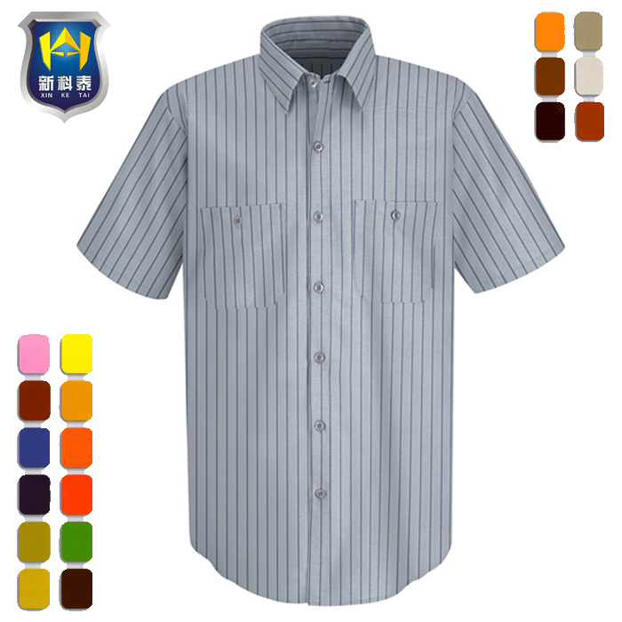 eec599a36f China Striped Long Sleeve Formal Dress Office Uniform Work Shirt ...