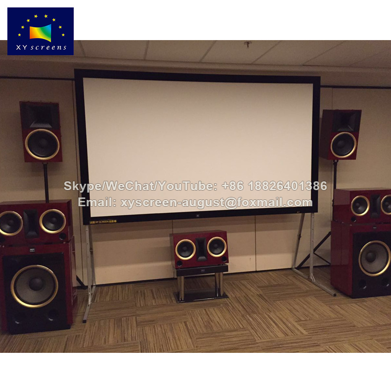 China Xy Screens 135 Inch LCD Projector Screen Home Movie Fixed ...
