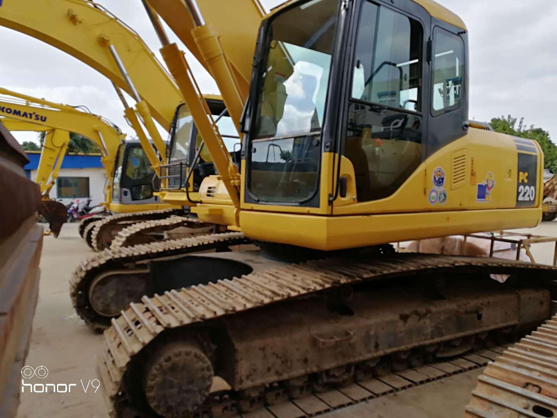China Used Komatsu PC220-7 Crawler Excavator Japan Komatsu 22ton Excavator  - China Exacavator, Komatsu PC220-7