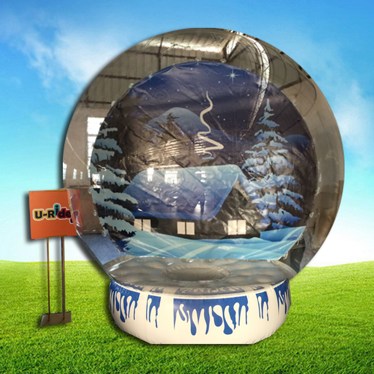 Globes For Sale >> Hot Item Advertising Inflatable Snow Globes Ball Inflatable Christmas Show Ball For Sale