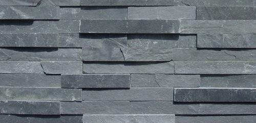 China Black Slate Wall Cladding Dcw012 China Black