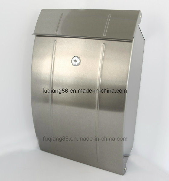 2016 Postbox Letterbox Mailbox with Stainless Steel