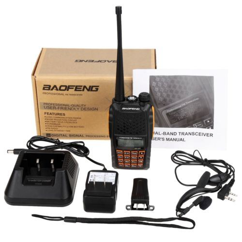 Dual Band Walkie Talkie Handheld 2 Way Radio