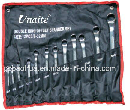 Double Offset Ring Spanner, Box Spanner pictures & photos