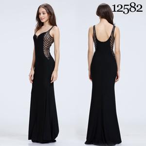 ef465483f54e China Elegant New Design Navy Jersey Evening Dresses - China Bodycon ...