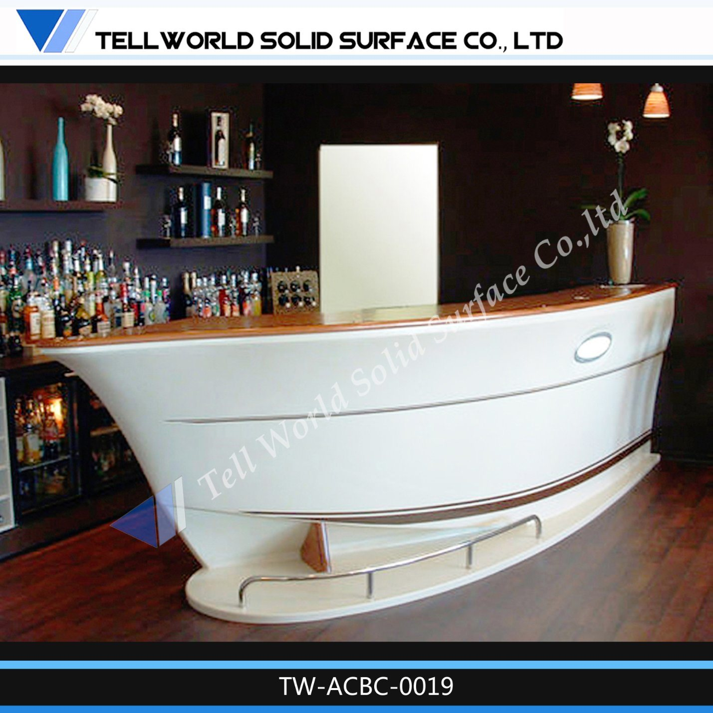 China Modern Design Mini LED Half Circle Arc Boat Shape Small Home ...