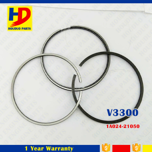 V3300 V3800 Diesel Engine Metal Piston Ring for Kubota (1C010-21050 1C010-21090 1A024-21050)