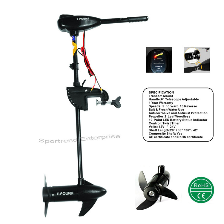 China Electric Outboard Trolling Motors (L-Series) - China