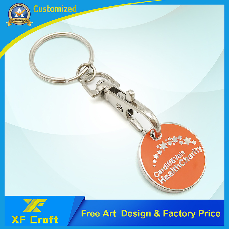 Professional Custom Souvenir Coin Holder /Trolley Key at Cheap Price (XF-TK04) pictures & photos
