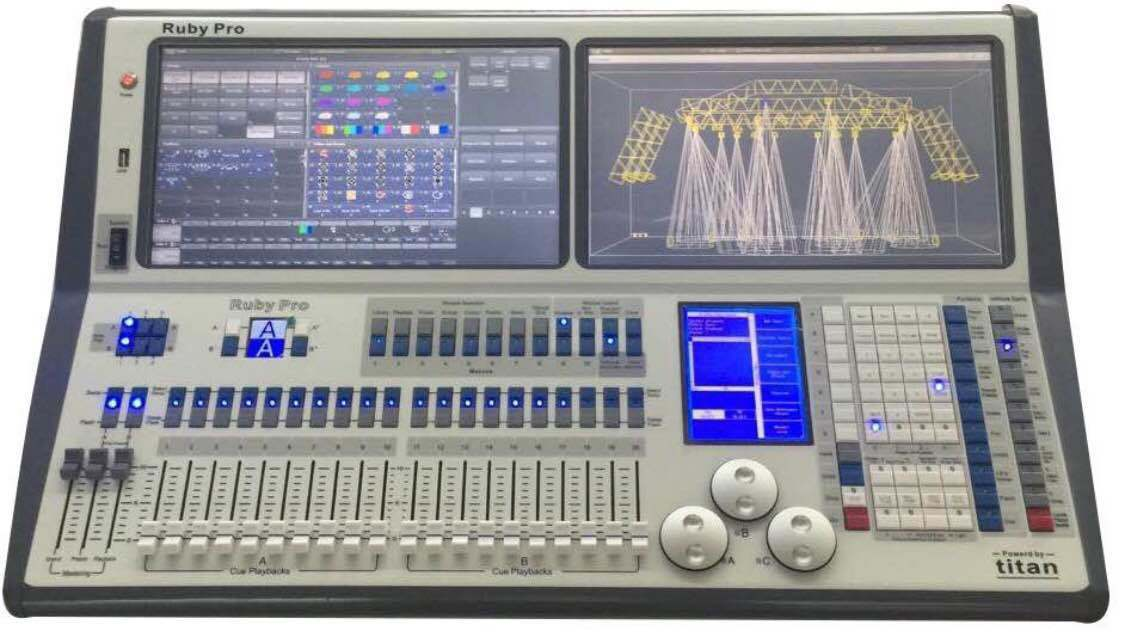 High Quality 192 DMX Channels Controller for Stage Disco Lighting Nj-C192 pictures & photos