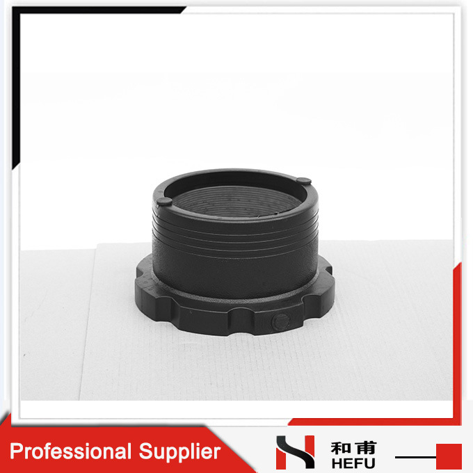 Electric Melting Black Cheap Fuel Exhaust Adapter Plastic Pipe Flange