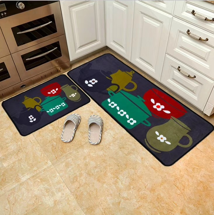 [Hot Item] Beautiful Comfortable Eco-Friendly Washable Table Mat, Chair  Carpet, Floor Mat, Kitchen Mat