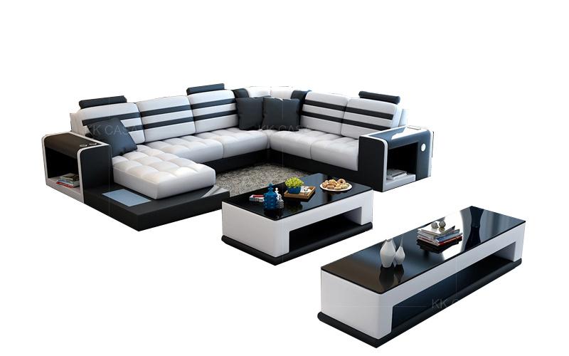 Room Furniture L Shape Set Design Sofa, Simple Living Furniture