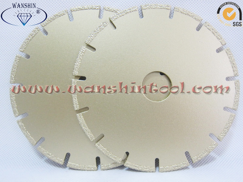 Vacuum Brazed Diamond Saw Blade for Metal Diamond Tool