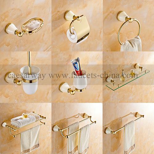 Launched Golden Bathroom Accessories