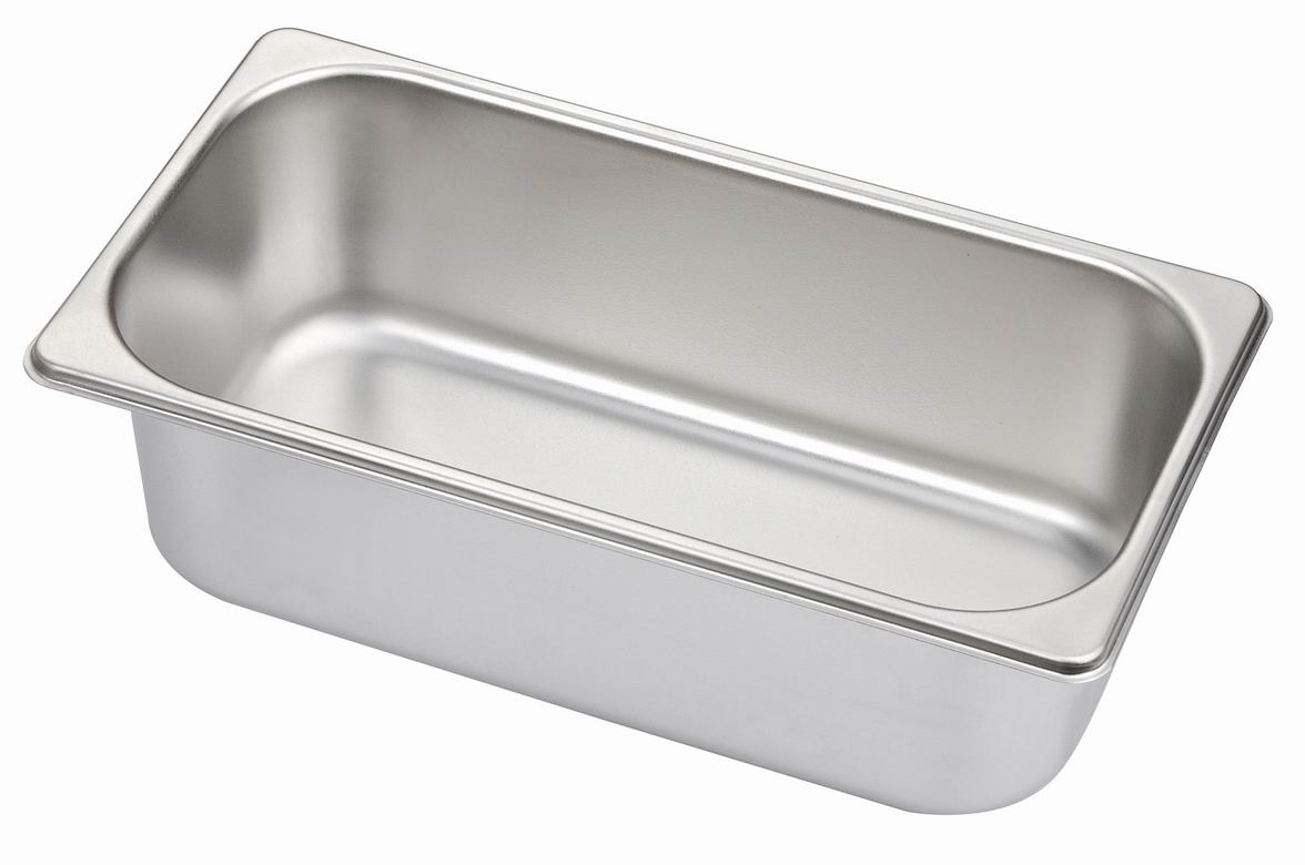 China 1/3 Stainless Steel Gn Pans, Gastronom Containers, Kitchenwares,  Buffet Ware   China Gastronom Pans, Gn Pan