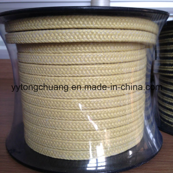 Aramid Fibre Braided Packing with PTFE