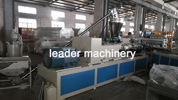 PVC+ASA Corrugated Roofing Sheet Roof Tile Extrusion Machine pictures & photos