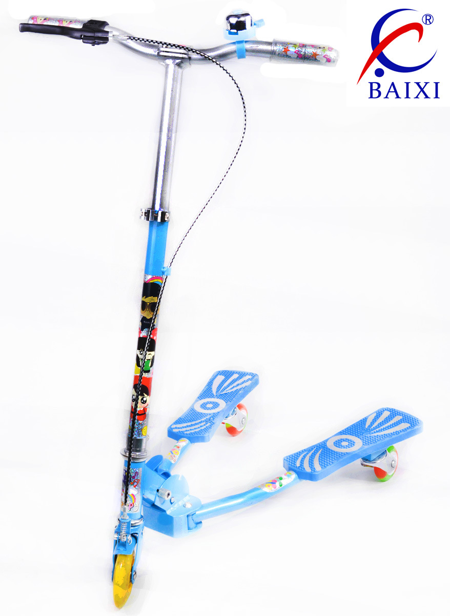 Skate Scooter for Kids/ Children with Flashing Wheel (BX-WS001)