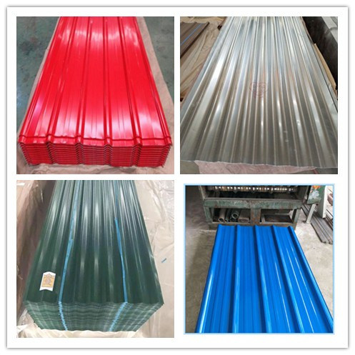 China Color Roof Philippines Color Corrugated Metal Steel Sheet China Color Corrugated Steel Sheet Color Metal Steel Sheet