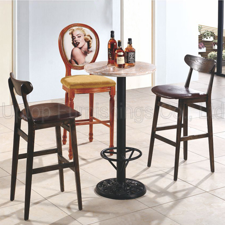 China Wooden Furniture Used Bistro Tables And Bar Stools Sp Ct707 Wood Set Table Chair
