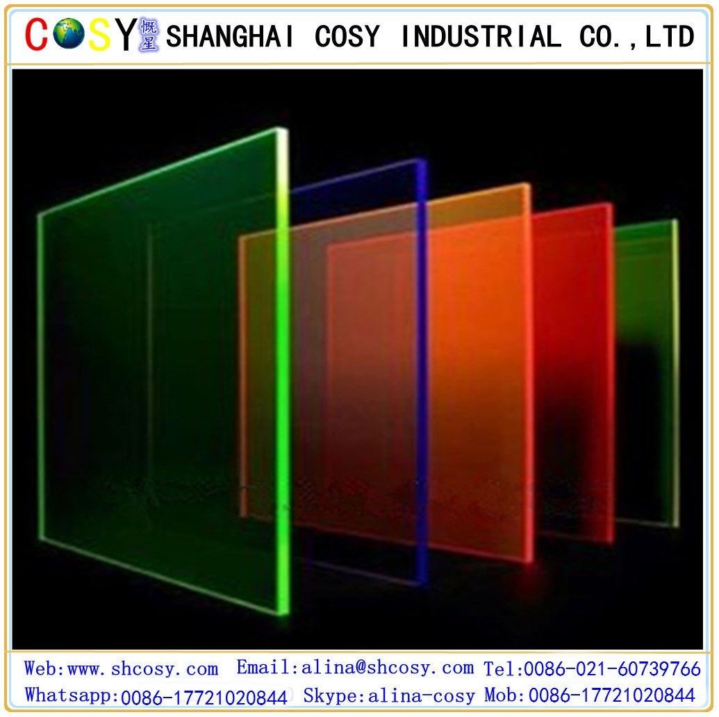 China 4*8 Clear and Colors Cast Acrylic Sheet Photos & Pictures ...