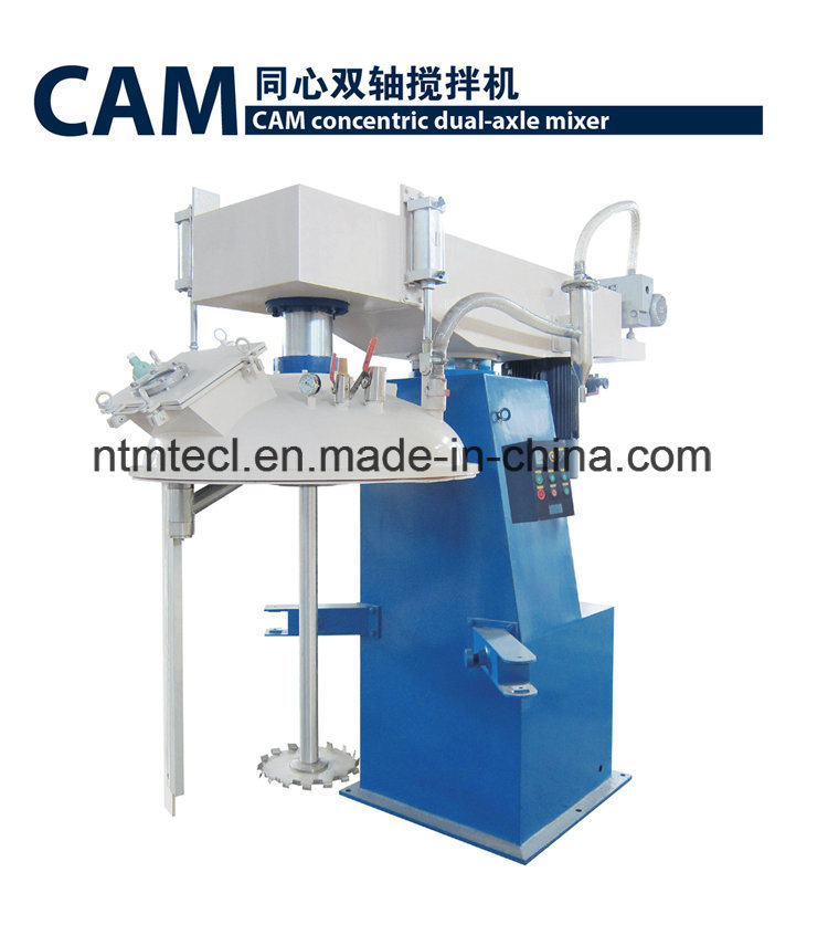 Concentric Dual-Axle Mixer for Paint, Coating, Adhesive, Putty, Chemical