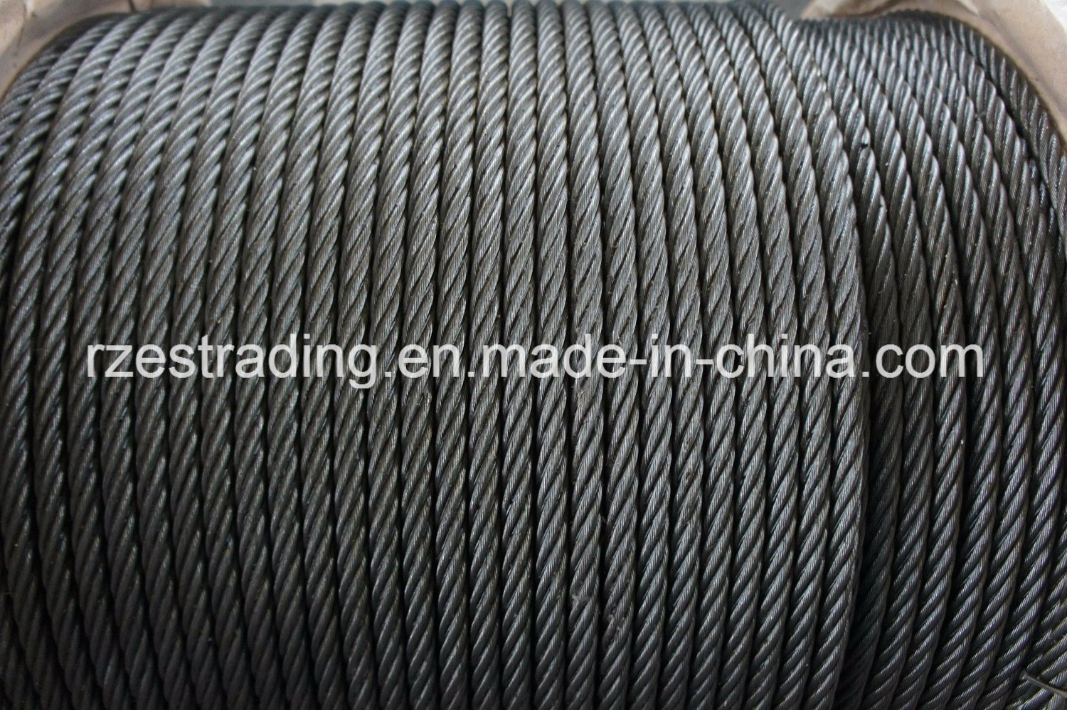 China Galvanized Steel Wire Rope 6 X 19+ 1 FC - China Wire ...