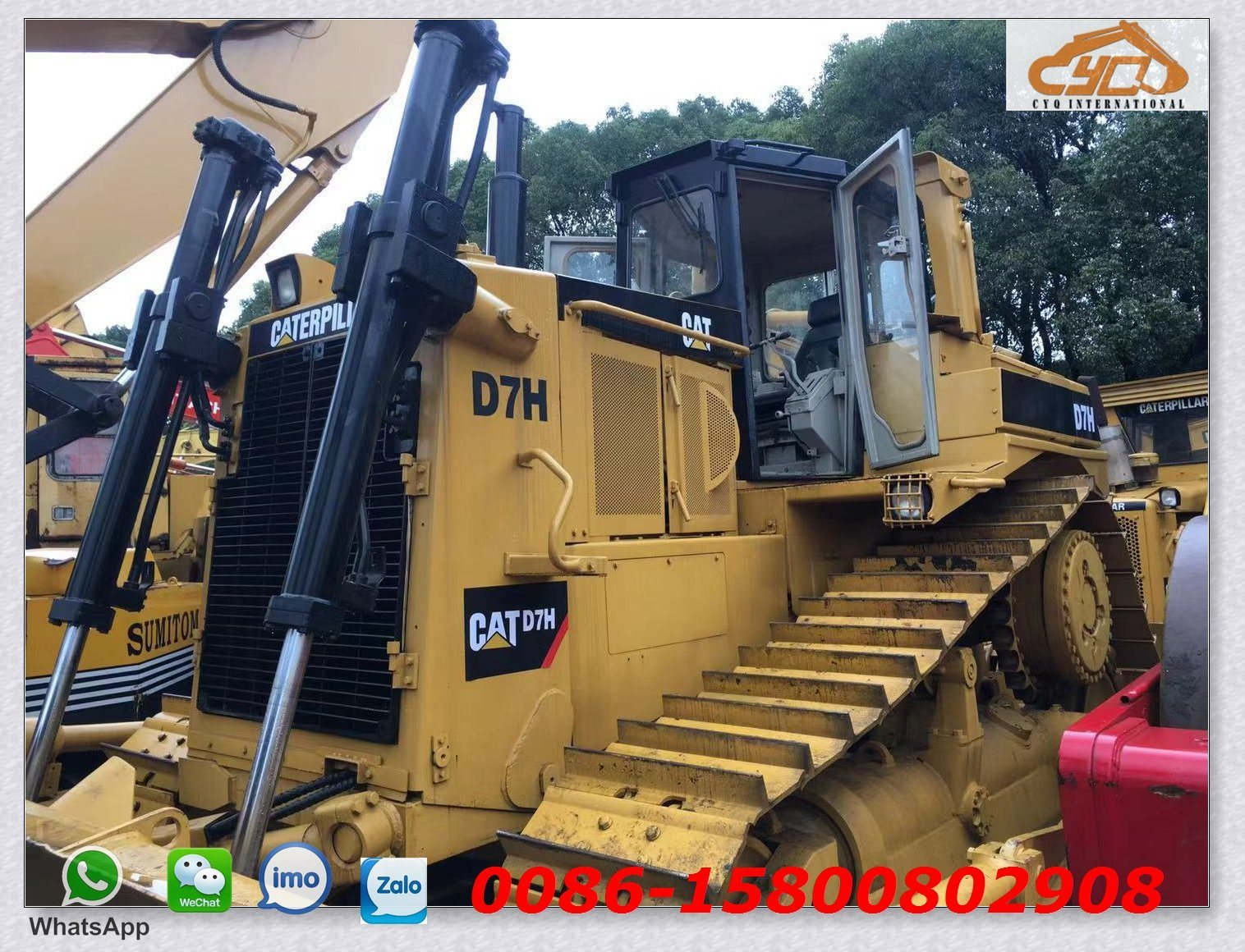 Bulldozers For Sale >> China Used Cat D7h Bulldozer Used Cat Bulldozers For Sale China