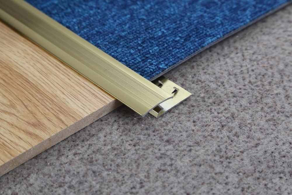 China Ceramic Tile To Carpet Transition Strip Aluminum Metal Carpet Trim China Aluminum Extrusion Aluminum Line