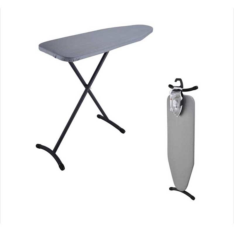 Hotel Guest Room Steel Mesh Top Height Adjustable Ironing Board
