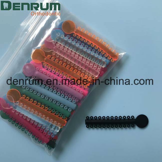 China Denrum Orthodontic Elastic Ligature Tie FDA CE ISO - China ...