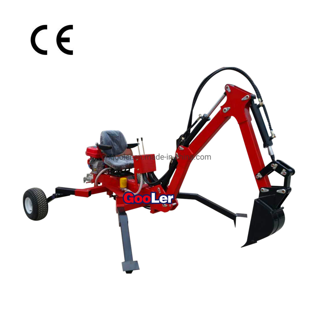 China Ce Approved Small ATV Towable Ride-on Trencher