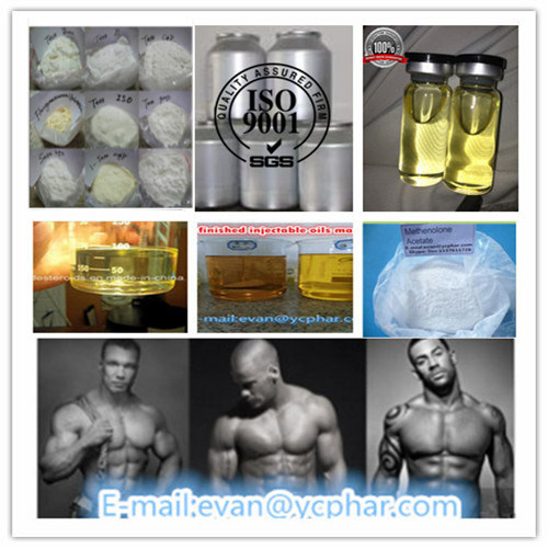 China Raw Steroid Hormone Powder Methen Acetate for