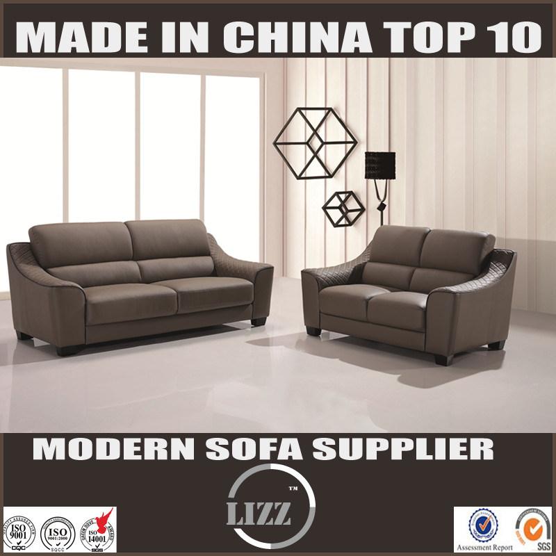 [Hot Item] European Contemporary Leather Sofa Set Lz626