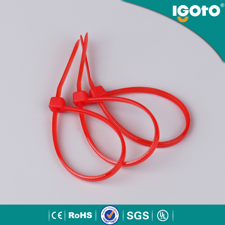 Nylon Material and Self-Locking Type Cable Tie