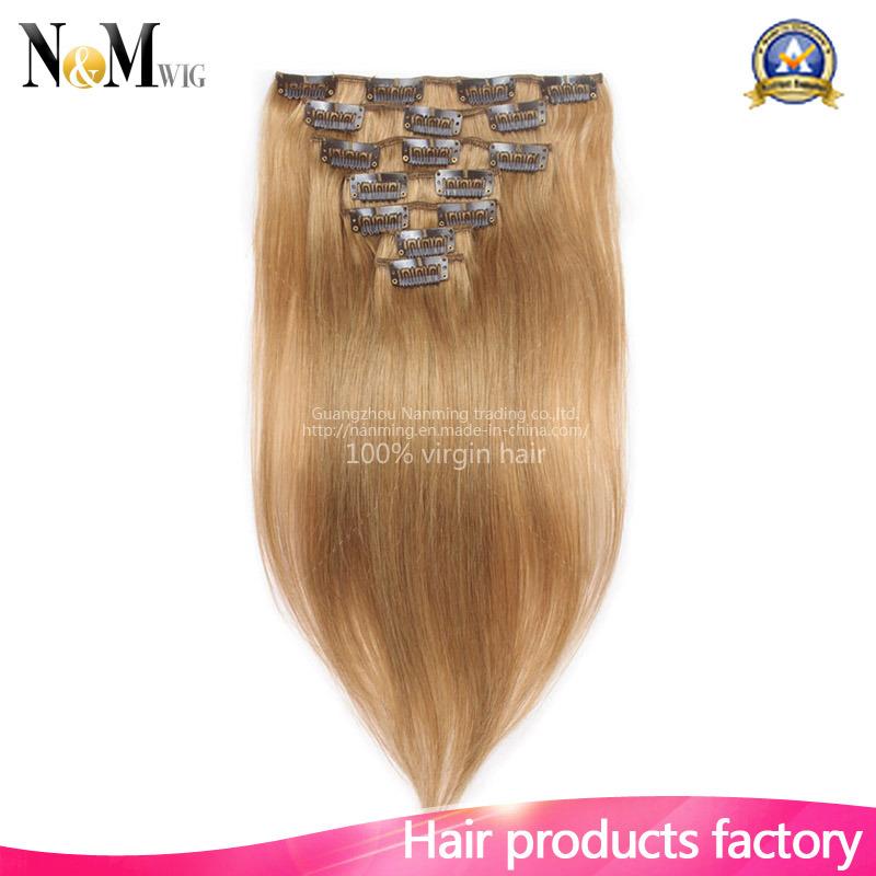 China Wholesale Market Keratin Hair Extension Brazilian Virgin
