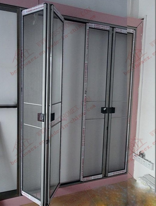 Expert manufacturer of Aluminium Accordion Fly Screen (BHN-FD06) pictures & photos